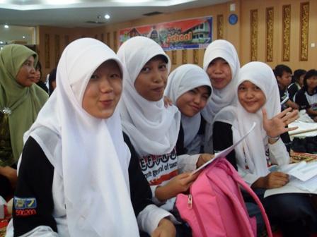 siswa siswi perwakilan MAN 1 Palembang
