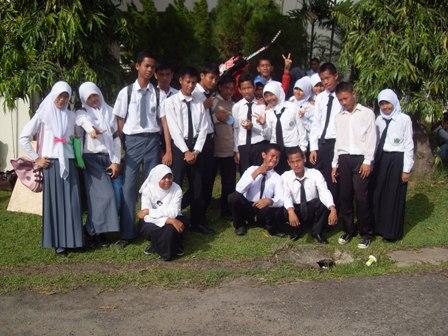 perwakilan siswa MAN 1 Palembang