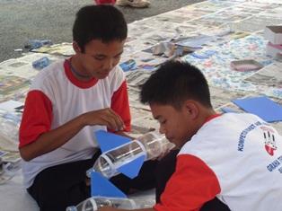 Riduan dan Wijaya, peserta dari MAN 1 Palembang