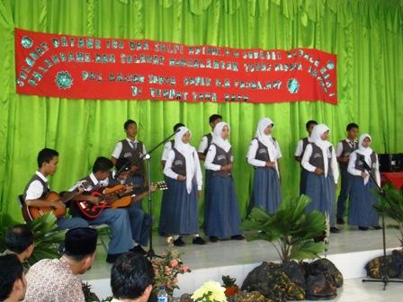 Vokal grup MAN 1 Palembang