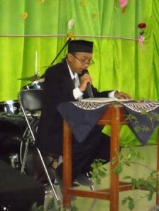 Qori' Shaumuddin dari kelas XI IPA 3